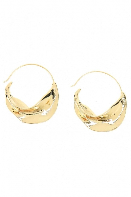 Thick Ring Earrings (St) - Thumbnail