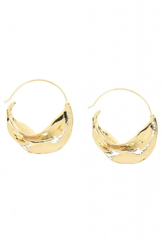 Thick Ring Earrings (St)