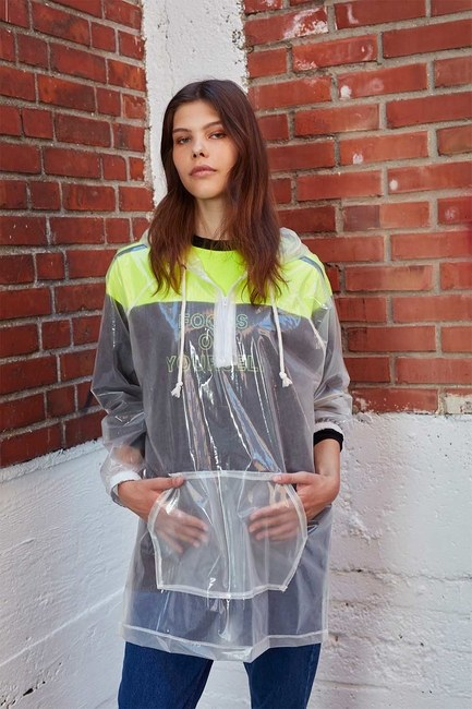 Transparent Raincoat (Transparent) - Thumbnail