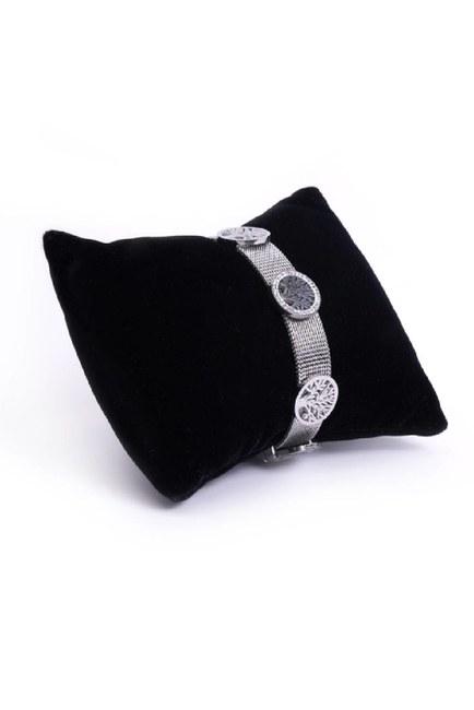 MIZALLE - Tree of Life Bracelet (Grey) (1)
