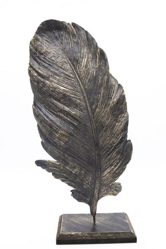 Tüy Dekoratif Obje (Siyah)
