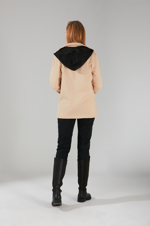 Üç İplik Ceket (Bej)