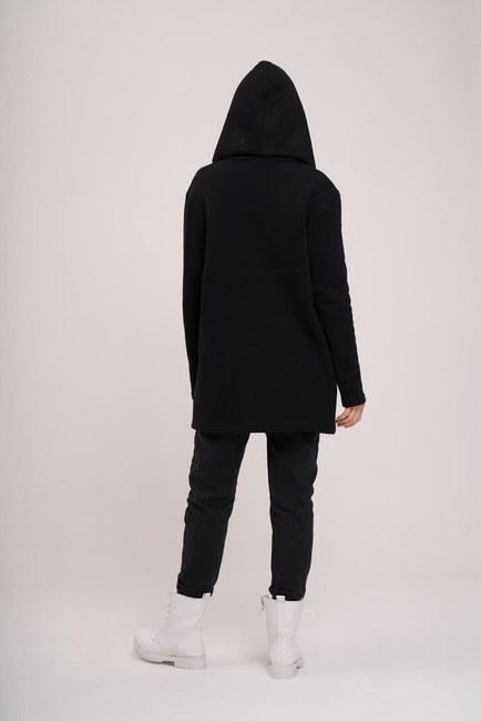 MIZALLE YOUTH - Three Yarn Jacket (Black) (1)