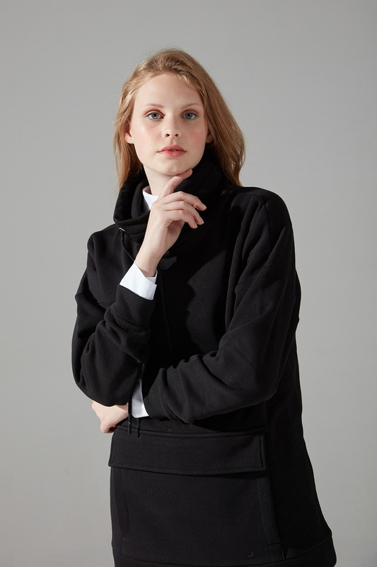 Üç İplik Sweatshirt (Siyah)