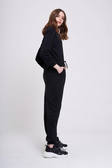 MIZALLE YOUTH - بدلة بثلاثة خيوط (أسود) (1)