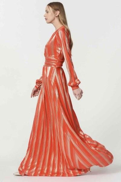 Gilded Dress (Orange) - Thumbnail