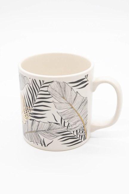 MIZALLE HOME - Barrel Mug (Cream) (1)