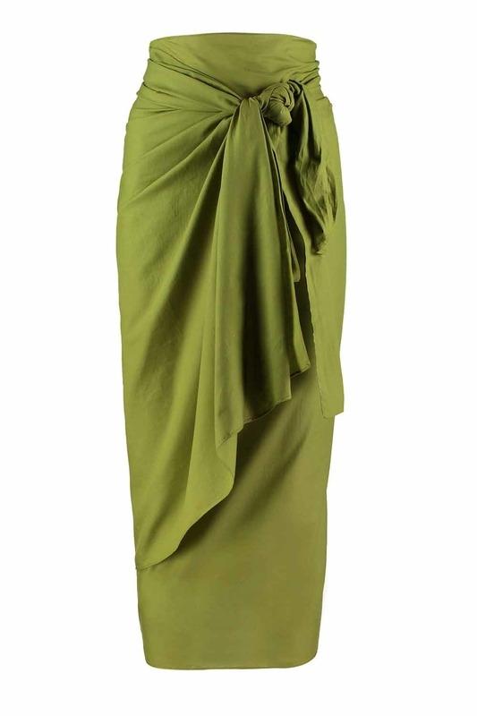 ملابس الشاطئ الفوال الملونة (البحرية الخضراء)
