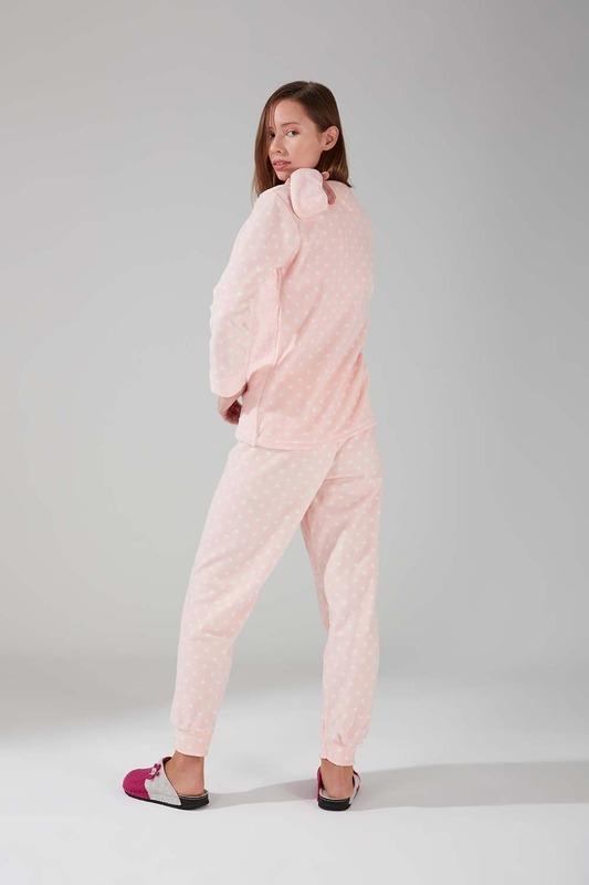 Wellsoft Polar Pijama Takımı (Pembe)