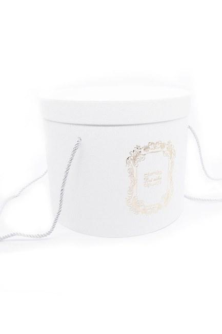 MIZALLE HOME - White Round Box (25X25) (1)
