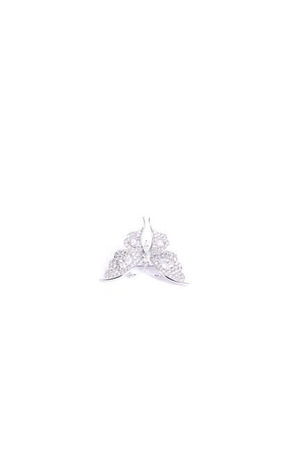 MIZALLE - بروش الفراشة بالحجر الأبيض (1)
