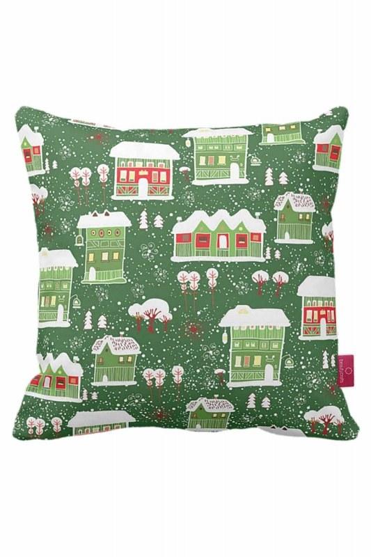 Winter Themed Decorative Pillow Case (43X43)