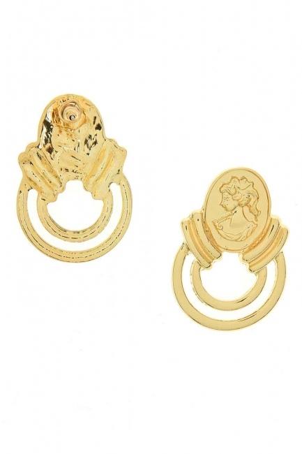 Women's Figured Earrings (St) - Thumbnail