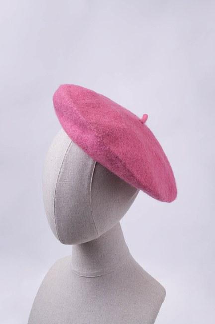 MIZALLE - Woolly Beanie (Rose) (1)