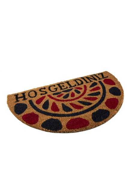 MIZALLE HOME - Half Moon Doormat (Drop) (1)