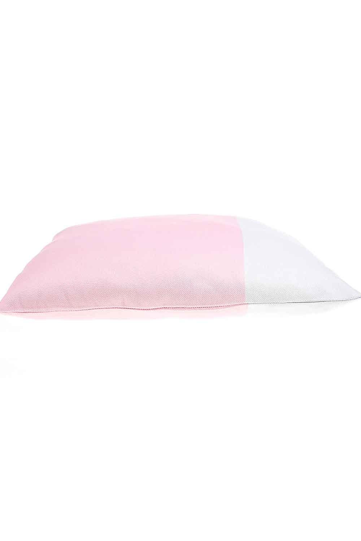 MIZALLE Pillow Case (Grey/Pink) (1)