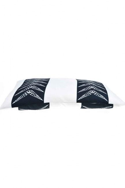 MIZALLE - Yastık Kılıfı (İki Şeritli) (1)