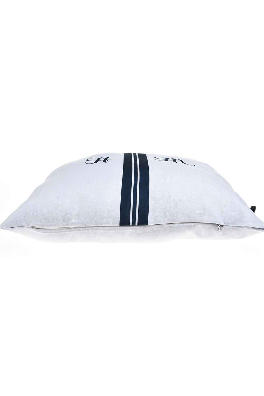 MIZALLE Pillow Case (Navy Blue Stripe) (1)