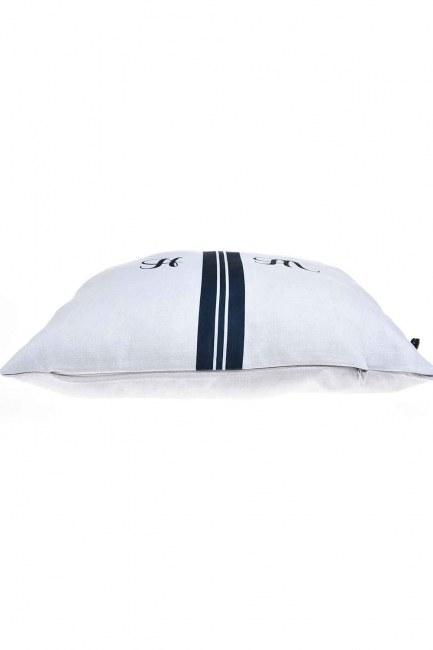 MIZALLE HOME - Pillow Case (Navy Blue Stripe) (1)