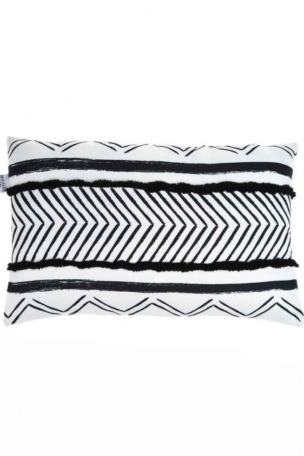 MIZALLE HOME Pillow Case (Zigzag)