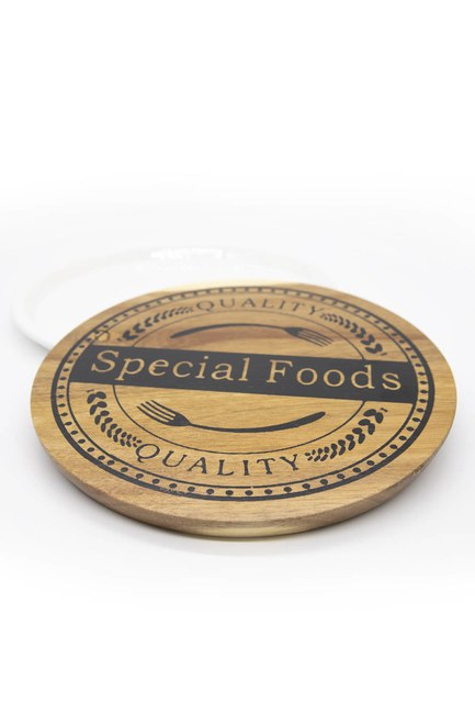 MIZALLE HOME - Written Bamboo Food Presentation Board (1)