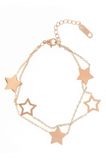 Starry Steel Bracelet (Rose) - Thumbnail