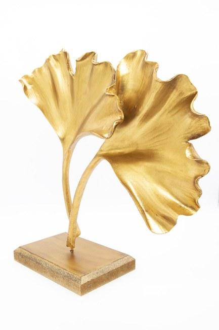 Yonca Dekoratif Obje (Altın) - Thumbnail