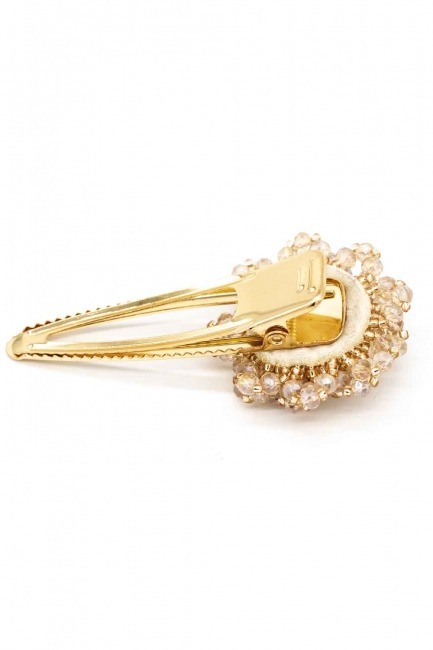 MIZALLE - Clover Detailed Hair Clips (Cream) (1)