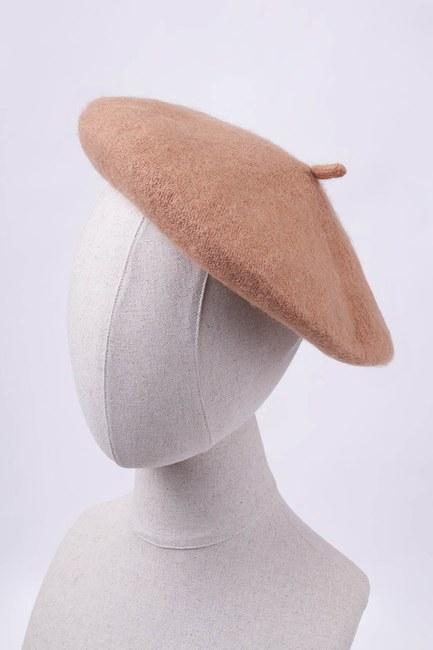 MIZALLE - Woolly Beanie (Mink) (1)