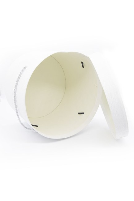 MIZALLE HOME - White Round Box (22X22) (1)