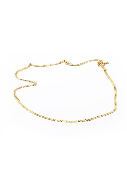 MIZALLE - Chain Necklace (Yellow) (1)